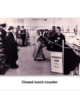 CWCR Sit-Ins 002 Closed lunch counter
