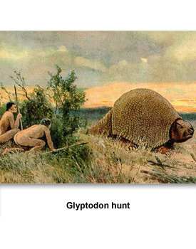 Who lived in Tennessee 01 Glyptodon
