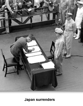 WWII How TN Changed 01 Japan Surrenders