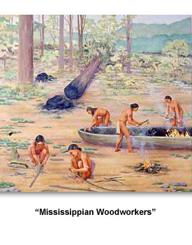 Mississippian Indians MI Woodworkers