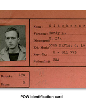 WWII Prisoners of War 01 POW identification card