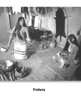 Effigy Pottery 01 Potters