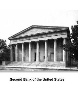 president andrew jackson and the second us bank By the time the bank had regained some control of the money supply and had restored some financial stability in 1828, andrew jackson, an anti-bank candidate, had been elected president although the second bank was not a campaign issue (biddle actually voted for jackson), by 1832, four years before the bank's charter was to expire, political .