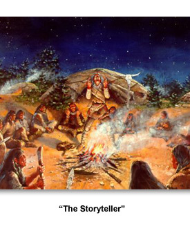 Paleo-Indians 01 , ?The Storyteller.?