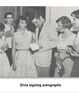 CRXX Teen Music 02 Elvis Signing autographs
