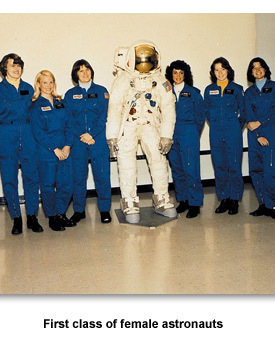 Technology 02 Female Astronauts