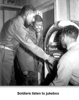 WWII Mursic 02 Soldiers Listening to Jukebox