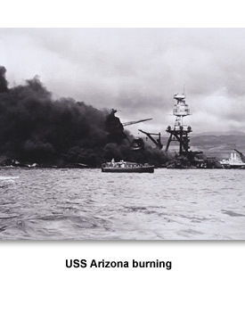 WWII War Begins 02 USS Arizona