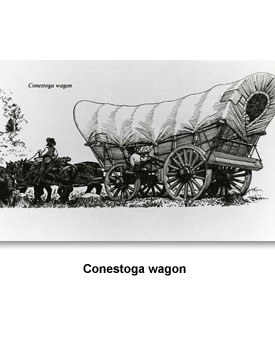 Who Came to Tennessee Conestoga Wagon