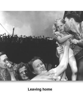 WWII Joining Up 03 Leaving Home
