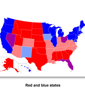 Information Politics 03 Red/Blue States