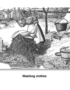 Keeping HOuse 03 Washing clothes