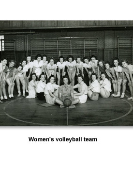 WWII Everyday 03 Women's Volleyball