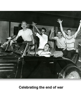 WWII How TN Changed 04 Celebrating the end of war