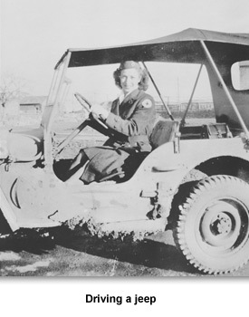 WWII Women Woeking 04 Driving Jeep