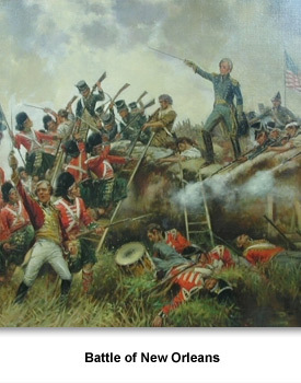 account of the battle of new orleans The battle of new orleans was written by jimmie driftwood the song details the 1815 battle of new orleans from the.