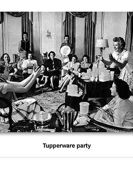 CW/CRM Women's Lives 04 Tupperware Party