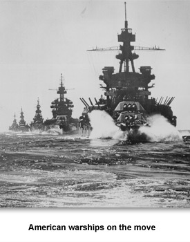 WWII Fighting 05 American Warships