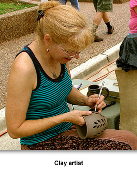 Info Arts/Music 05 Clay Artist
