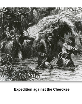 Land & Indians 05 Expedition against the Cherokees