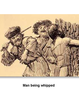 Everyday Life 05 Man being whipped