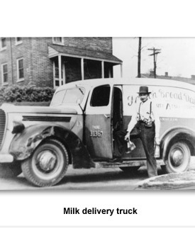 Confront Transportation 05 Milk Delivery Truck