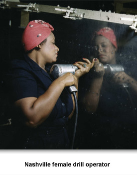 WWII Homepage 05 Female Worker