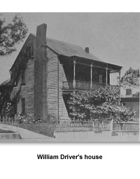 Divided Families 5 William Driver's house