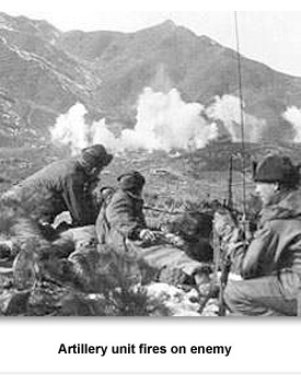 Korean War 05 Artillery Fire