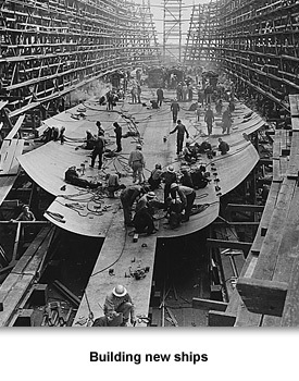 WWII War at Sea 06 Building new ships