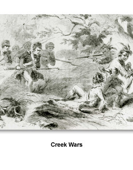 Land & Indians 06 Creek Wars