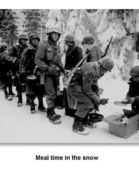WWII Fighting 06 Chow in the Snow
