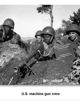 Korean War Machine Guns