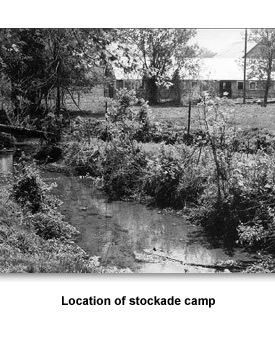 Jackson Trail Of Tears 07 Location of stockade camp