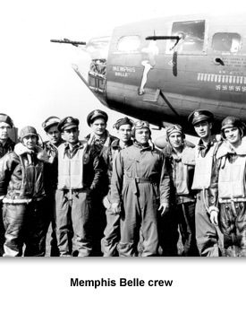 WWII In the Air 07 Memphis belle crew