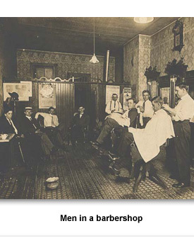 Confront How 07 barber shop