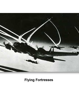 WWII In the Air 10 Flying Fortress
