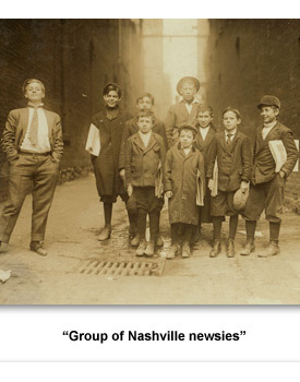 Confront Child Labor 08 Nashville Newsies