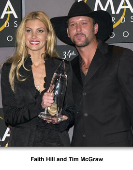 Country Music 10 Faith Hill and Tim McGraw
