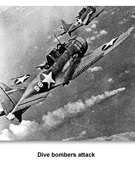 WWII War at Sea 11 Dive Bombers