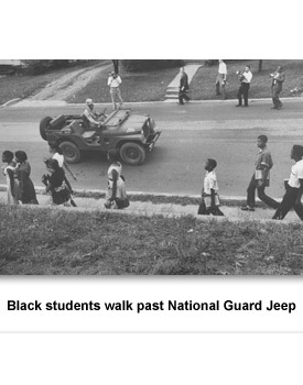 CR Clinton High 03 Black Students and Jeep