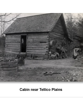 Depression 05 Cabin near Tellico Plains