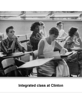 CR Clinton High 04 Desegregated Class