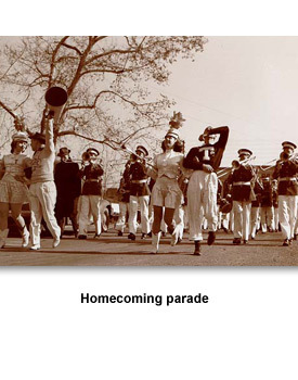 How People Lived 12 Homecoming parade