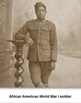 Confront WWI 07 Black Soldier