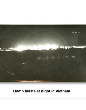 CW Vietnam 04 bombs at Night
