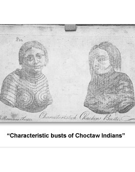 Indians Tattoos and Jewelry 03 Choctaw Busts