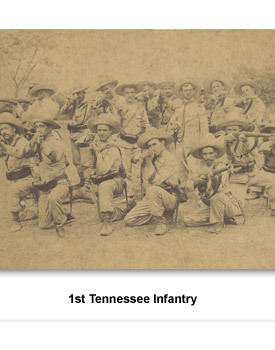 Confront Span/Amer War 05 1st TN Infantry
