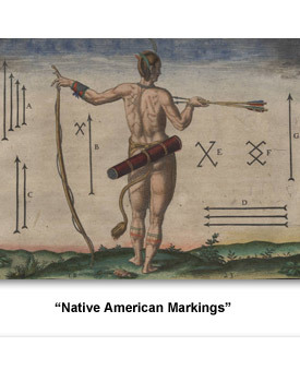Indians Tattoos and Jewelry 01 Markings