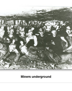 Confront Coal Miners 02 Men Underground